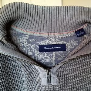 Tommy Bahama Half Zip Sweater Mens Large